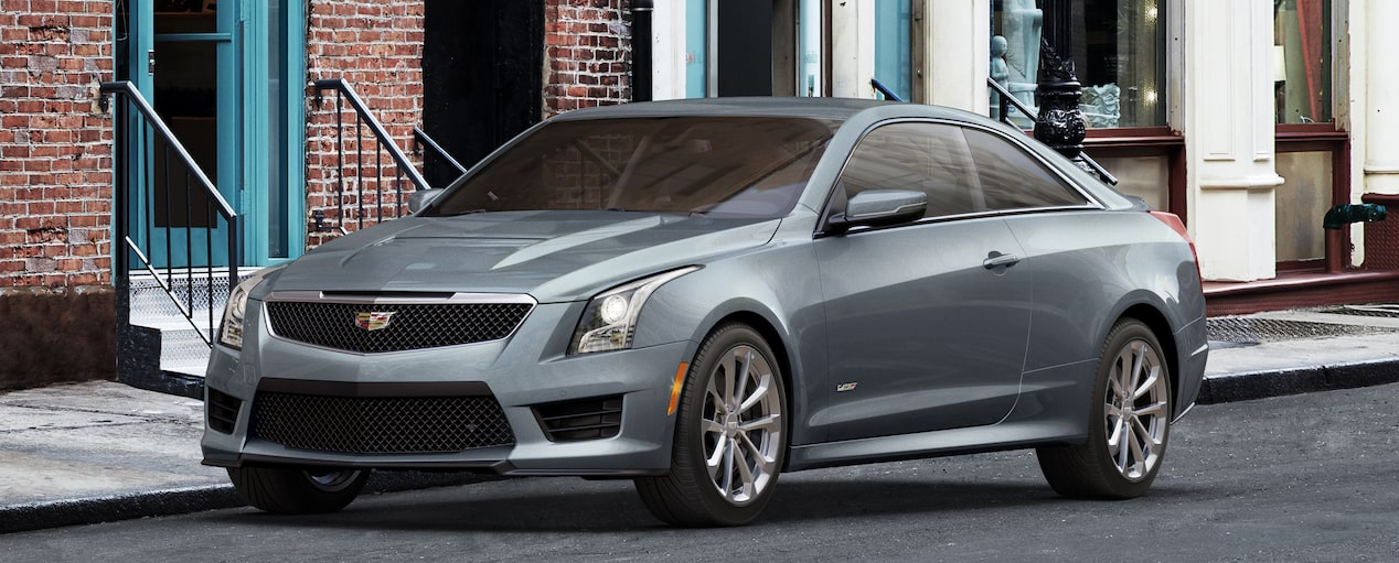 ATS-V Coupe Exterior in Satin Steel Metallic