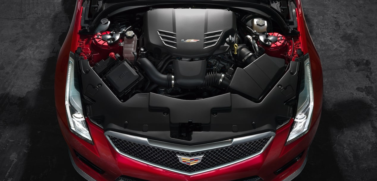 ATS-V Sedan Engine