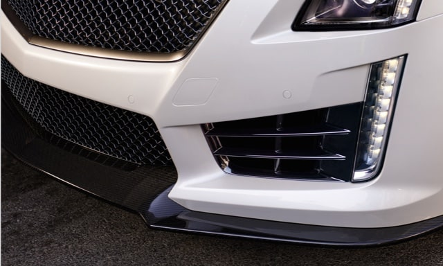 Splitter on Cadillac CTS-V