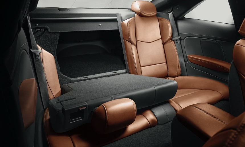 Folding Backseat in ATS Coupe