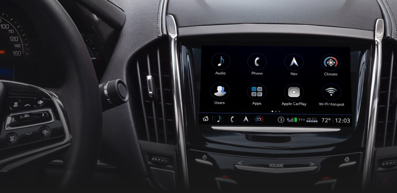 Infotainment Inside ATS Coupe