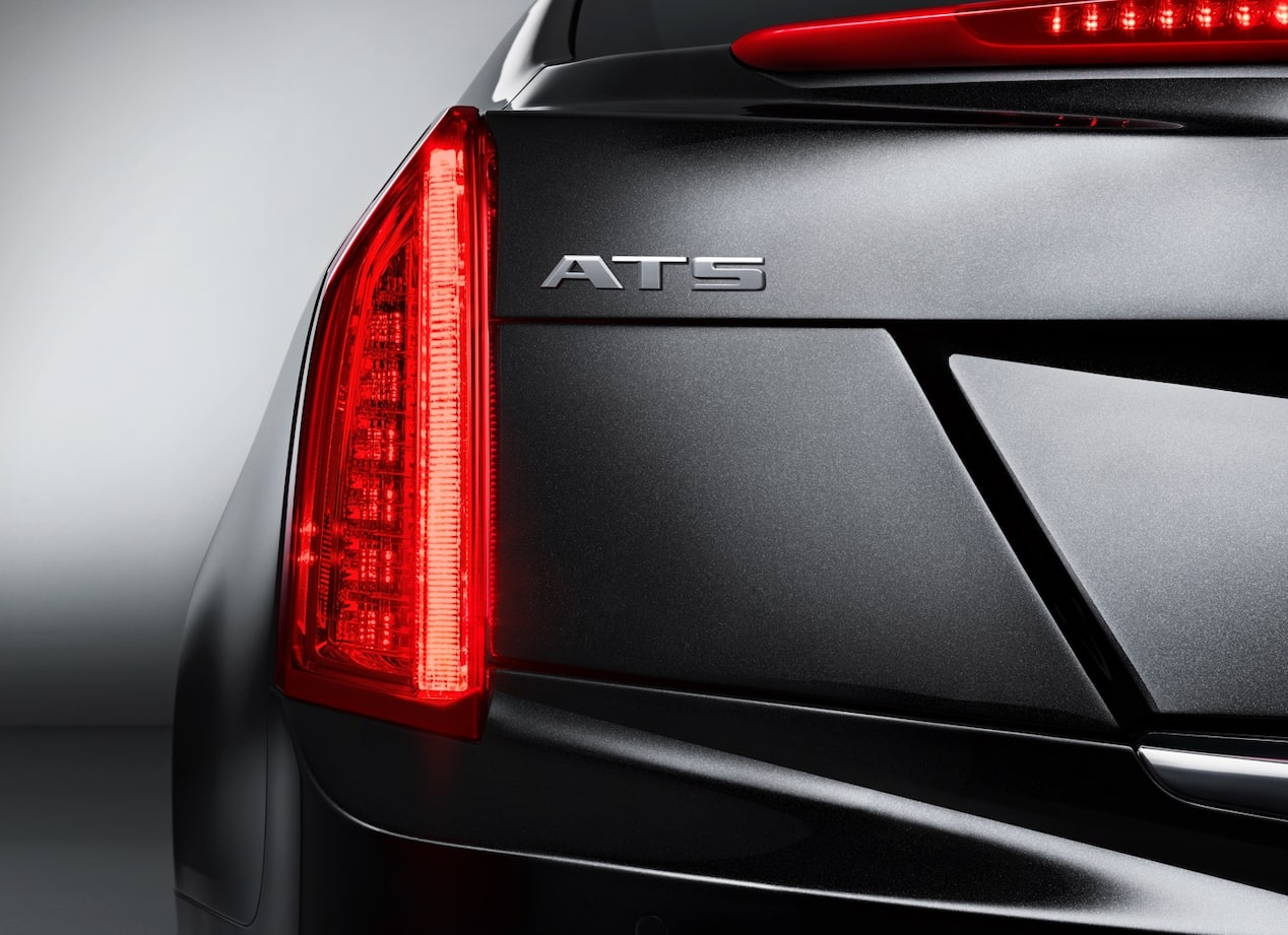 Front View of ATS Coupe