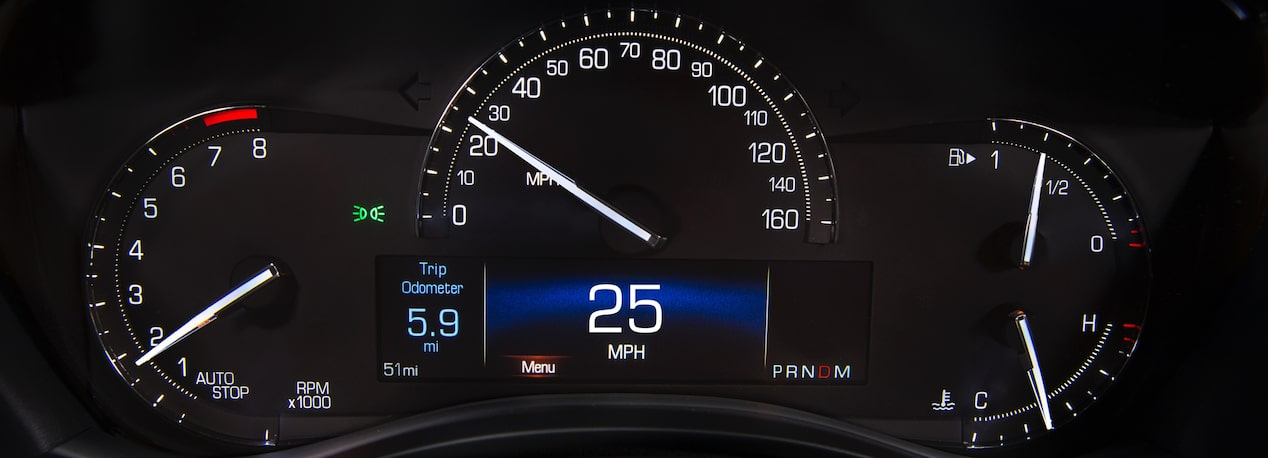 Speedometer in ATS Coupe