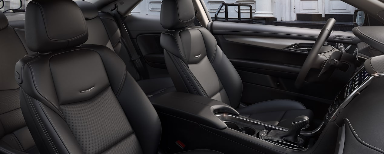 ATS Coupe Seats in Jet Black with Jet Black