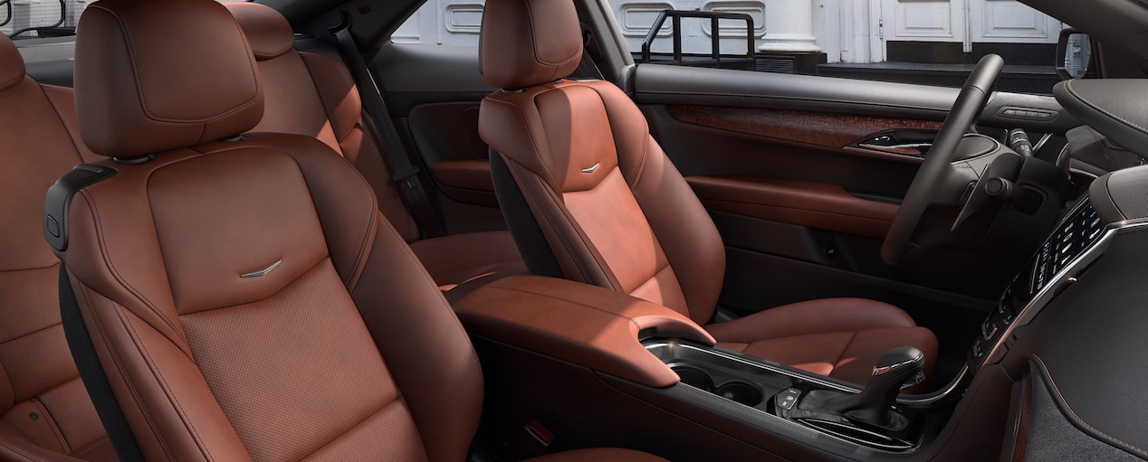 ATS Coupe Seats in Kona Brown with Jet Black