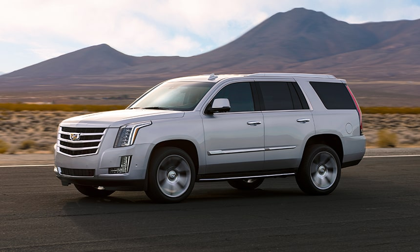 Front View of Cadillac Escalade