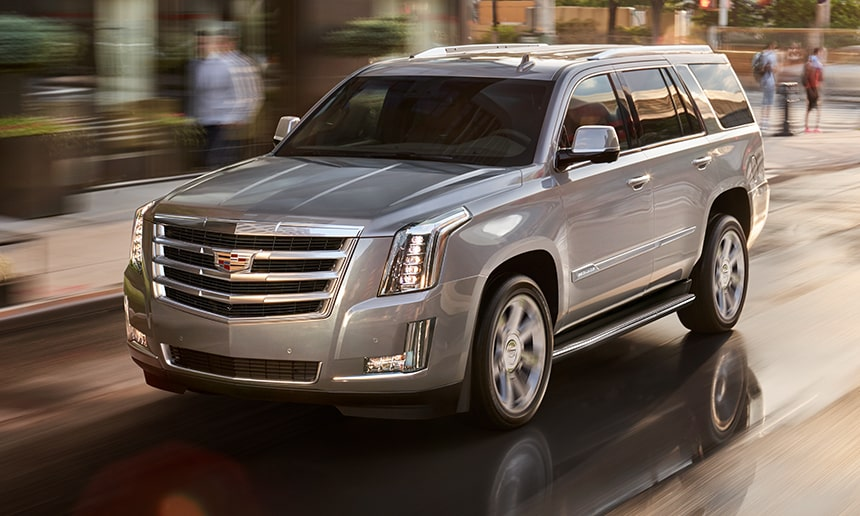 Cadillac Escalade Driving