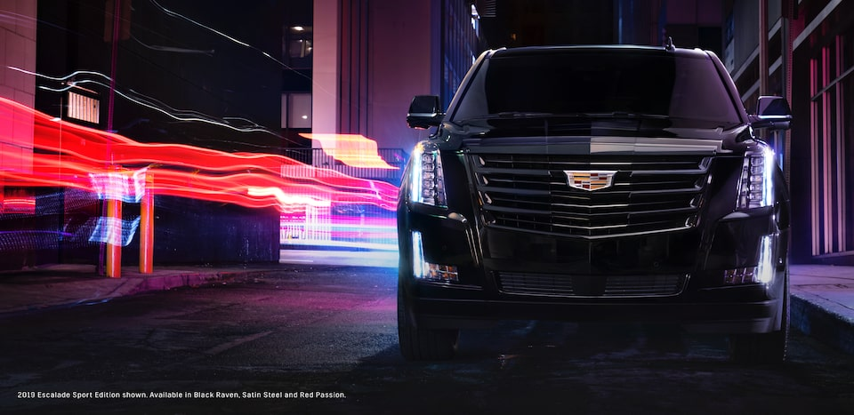 Three Quarter View of Escalade SUV