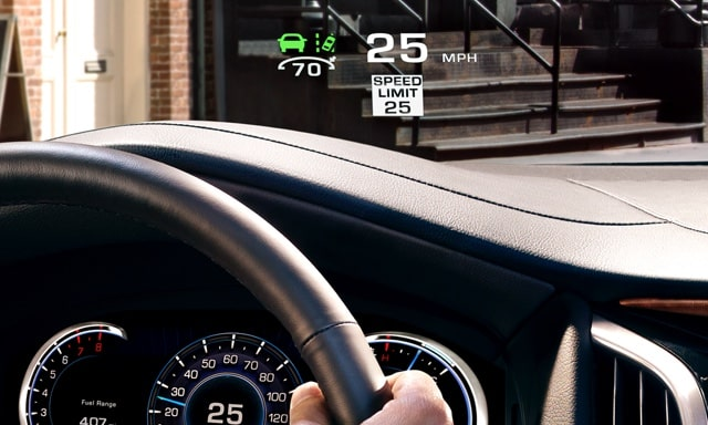 Head Up Display in Escalade