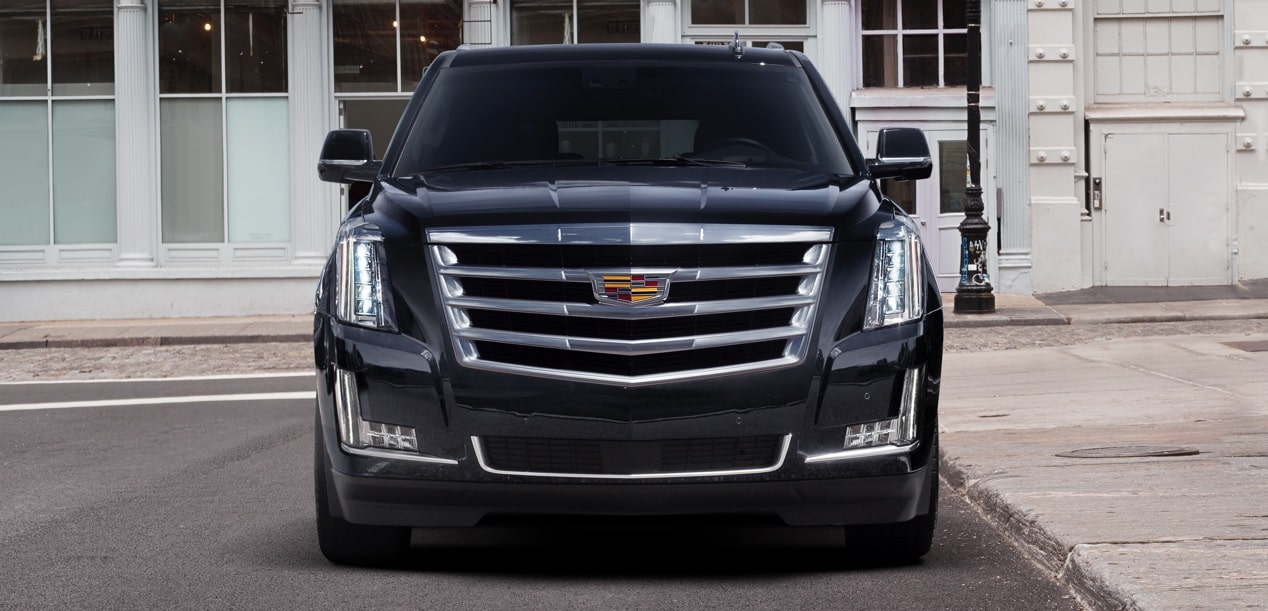 Front View of Escalade SUV
