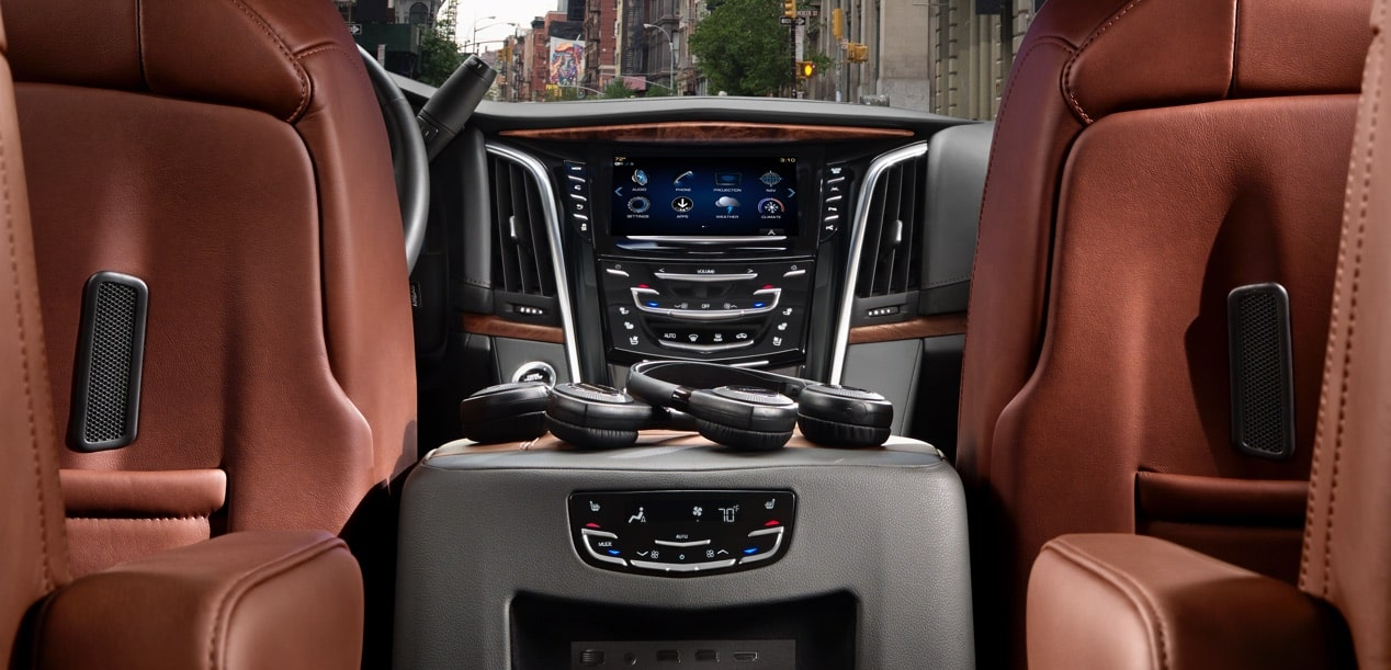 Escalade Interior View From Backseat