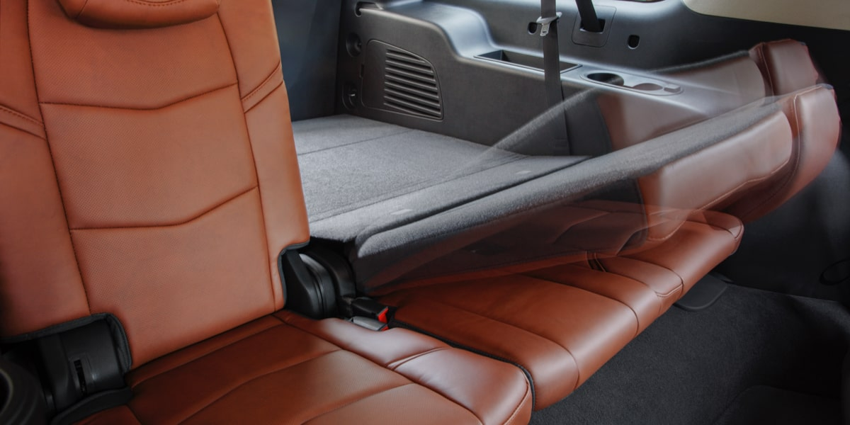 Escalade SUV Backseats