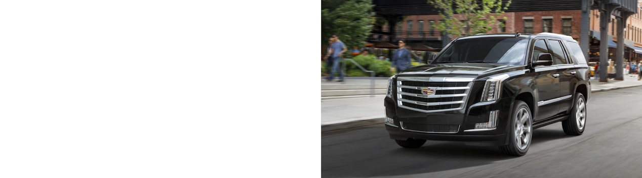 Cadillac Escalade Full-Size SUV Front Side Exterior