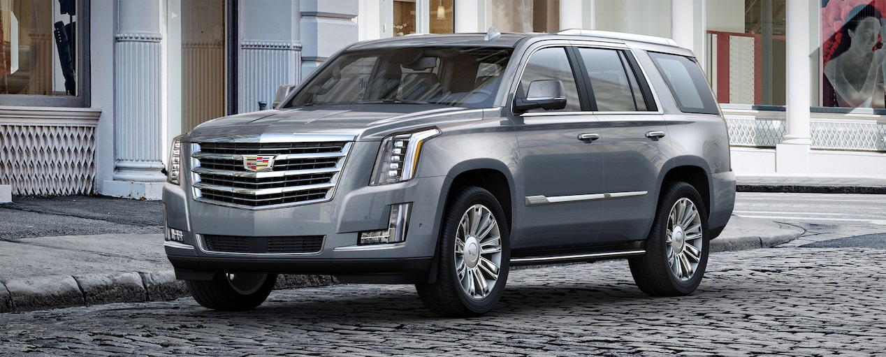 Escalade Suv Exterior In Satin Steel Metallic