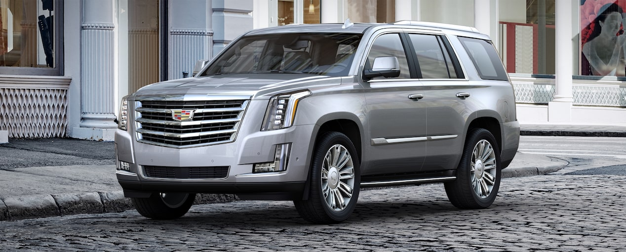 Escalade SUV Exterior in Radiant Silver Metallic