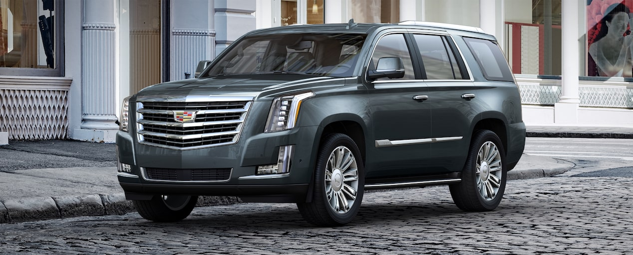 Escalade SUV Exterior in Shadow Metallic