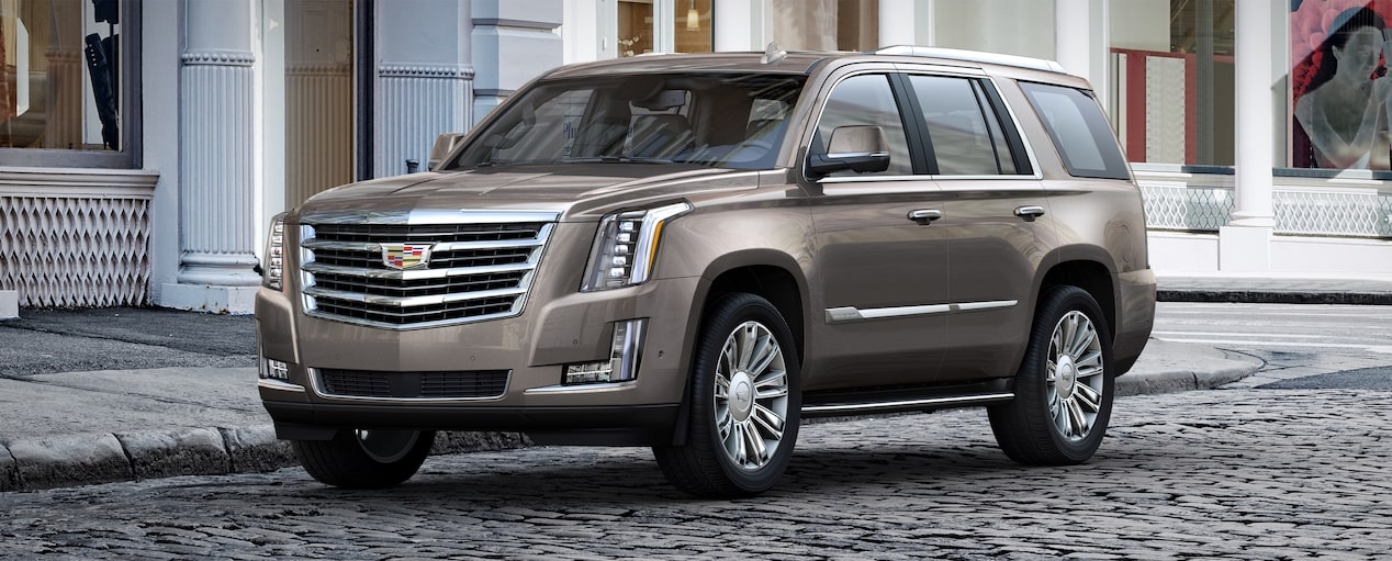 Escalade SUV Exterior in Bronze Dune Metallic