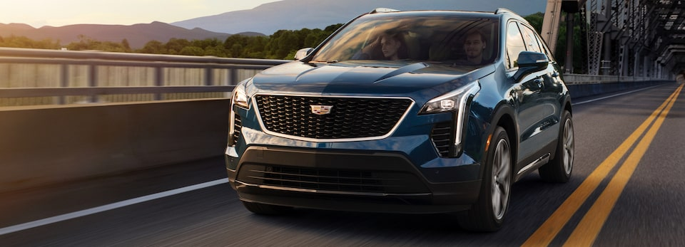 XT4 Crossover Front Exterior