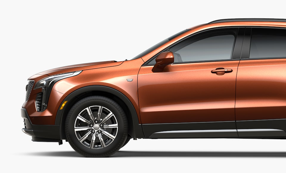 2019 XT4 Crossover Side View