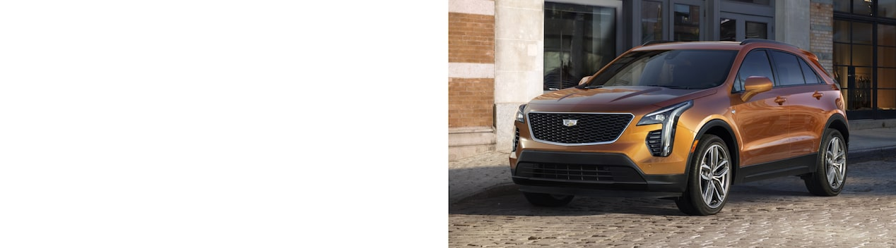 Cadillac XT4 Compact SUV Front Side Exterior