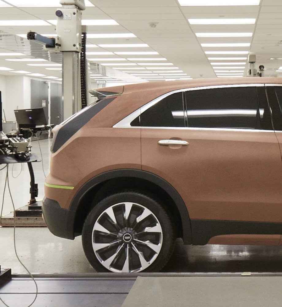 Rear Profile View of 2019 Cadillac XT4 Crossover SUV