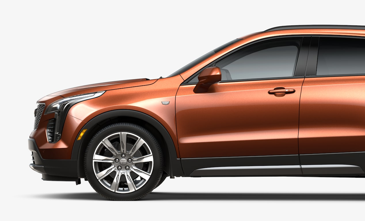Front Profile View of the 2019 Cadillac XT4 Crossover SUV