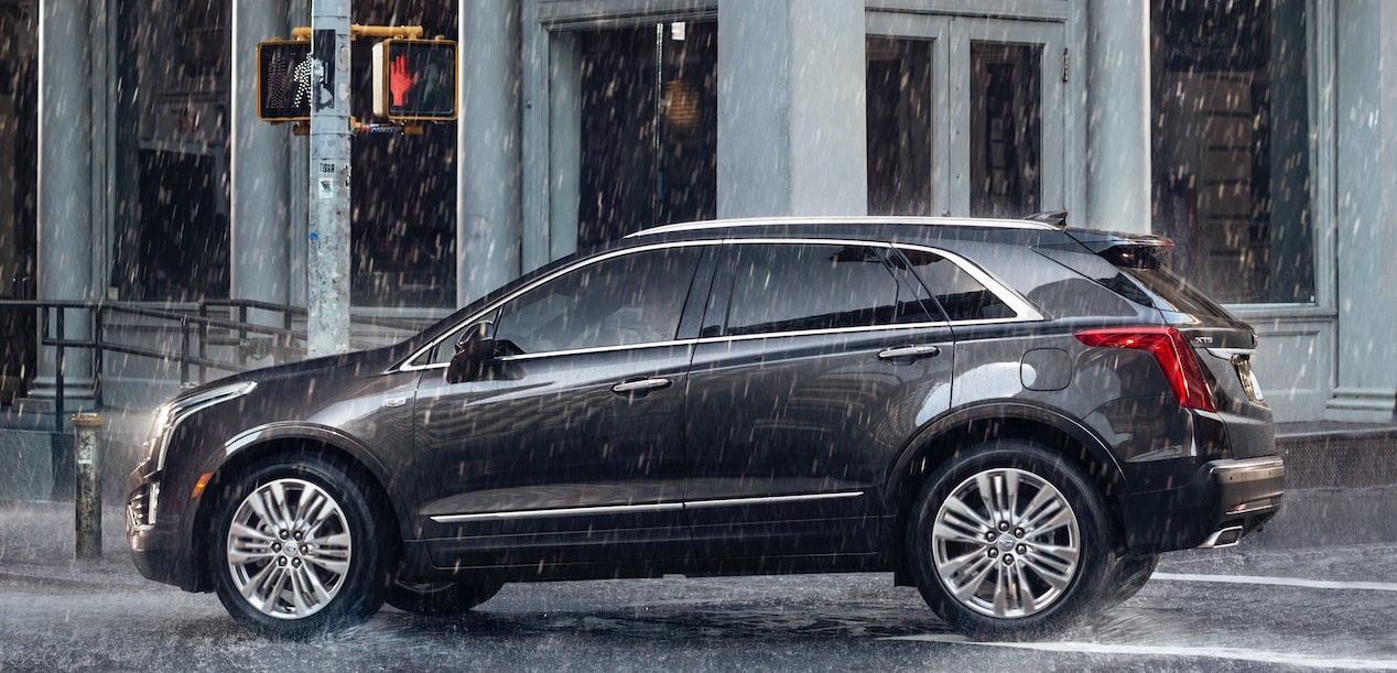 Side View of Cadillac XT5