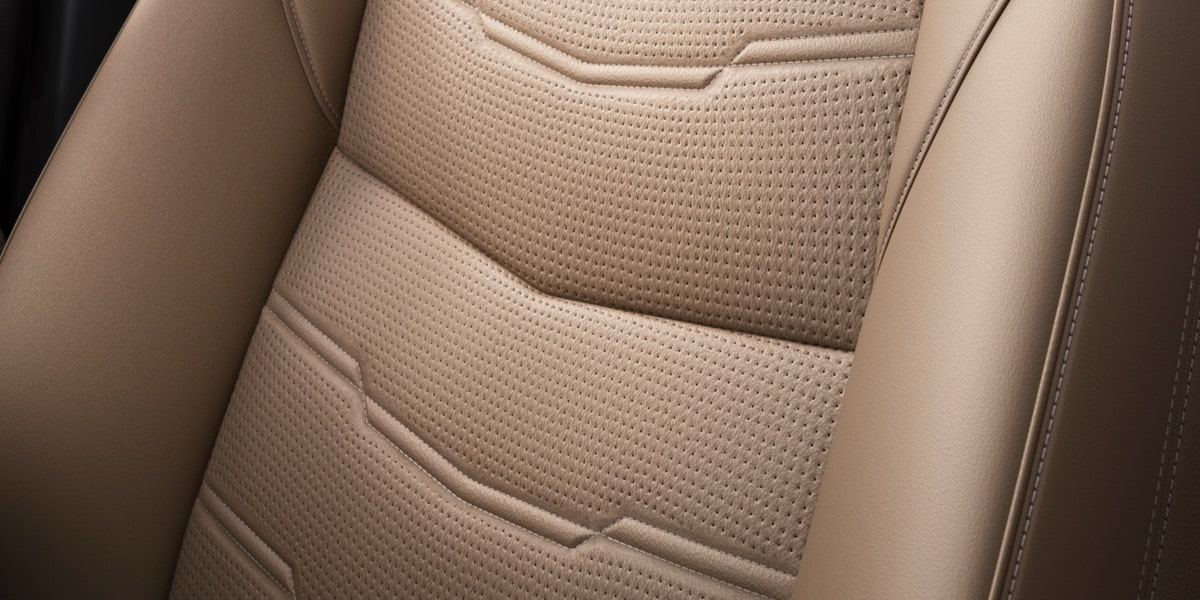 XT5 Crossover Seat Close Up
