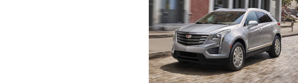Cadillac XT5 Mid-Size SUV Front Side Exterior