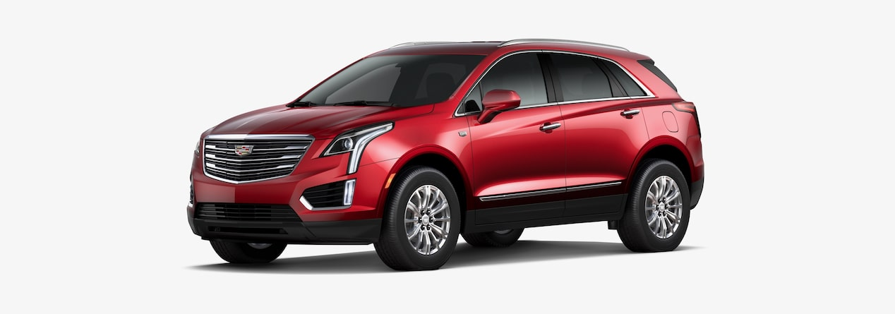 2019 Xt5 Crossover Compare Trims Cadillac