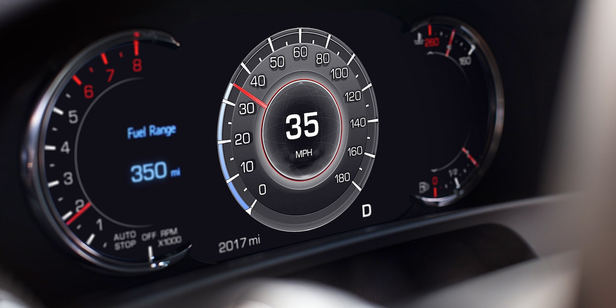 2019 CT6 Sedan Interior Photo: Driver Instrument Cluster