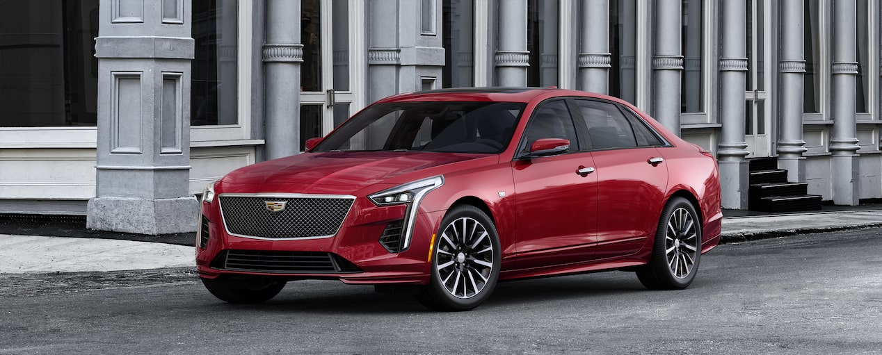 2019 CT6 Sedan Exterior Colorizer in Red Horizon Tintcoat