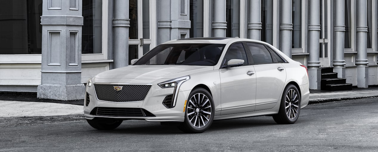 2019 CT6 Sedan Exterior Colorizer in Crystal White Tricoat