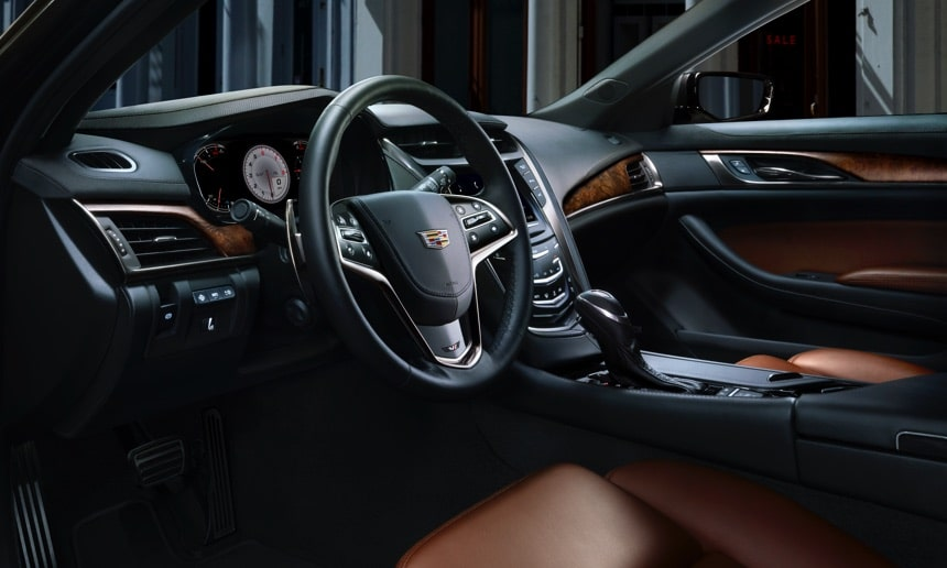 Ambient Lighting Inside CTS Sedan