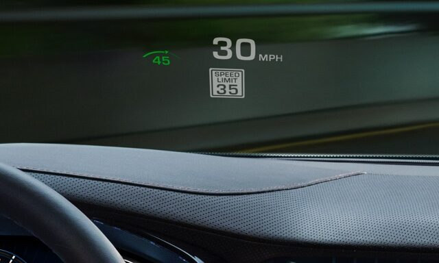 CTS Sedan Headup Display
