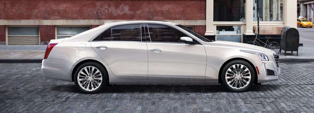 Side View of CTS Sedan