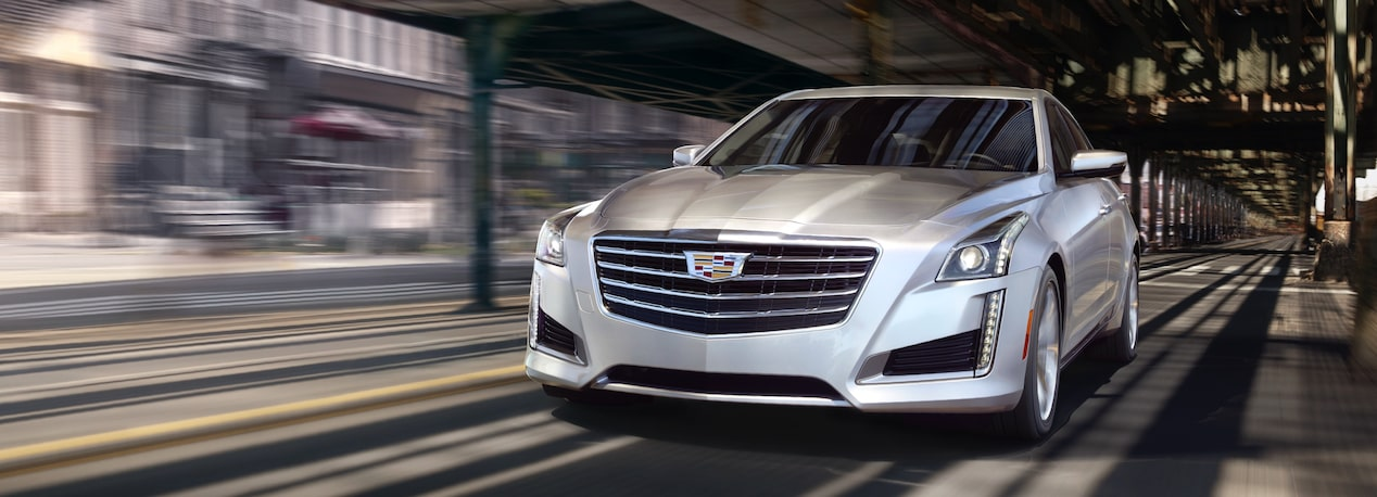 Front View of CTS Sedan Driving