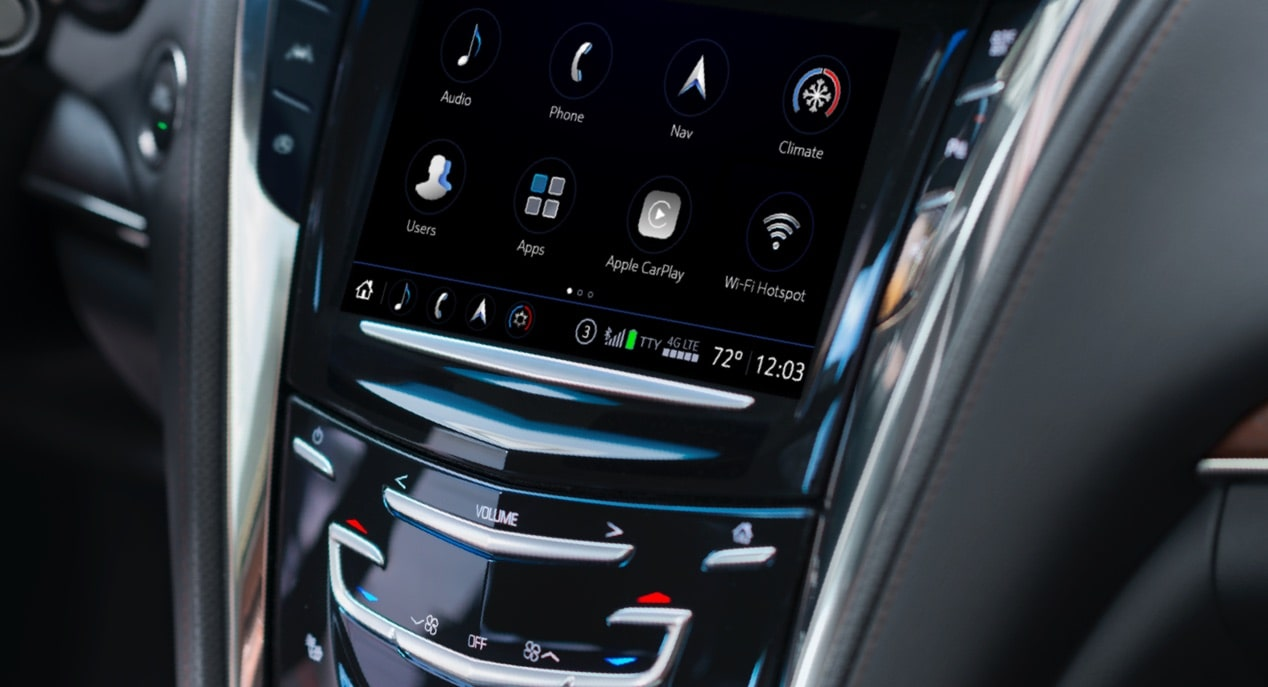 Infotainment in CTS Sedan