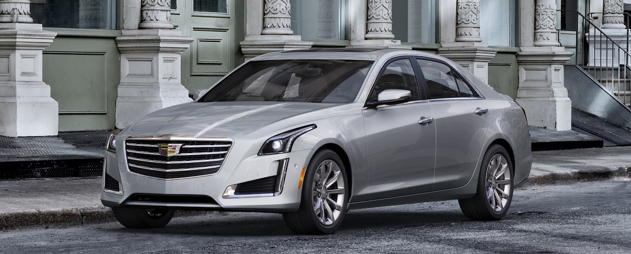 CTS Sedan Exterior in Radiant Silver Metallic