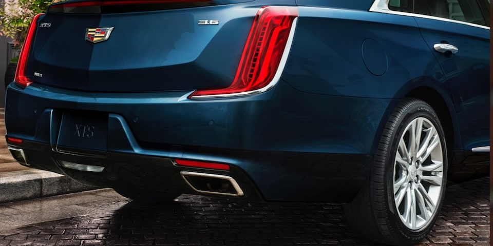 Rear of Cadillac XTS Sedan