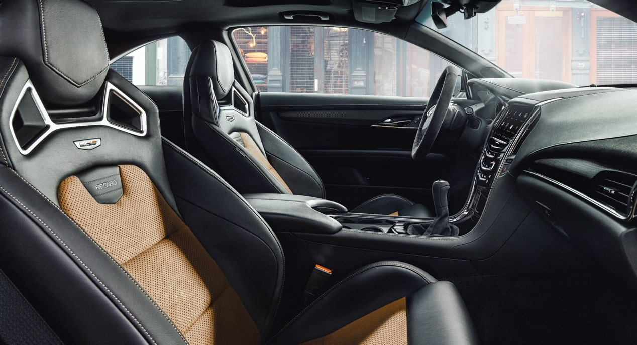 Recaro Seats in ATS-V Coupe