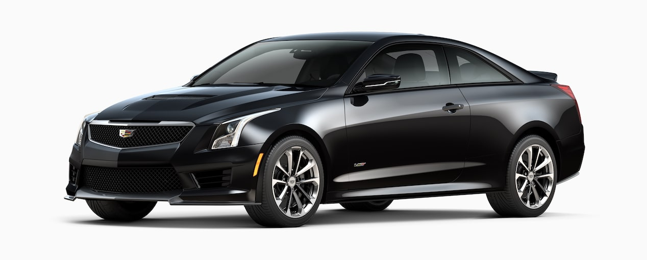ATS-V Coupe Exterior in Black Raven