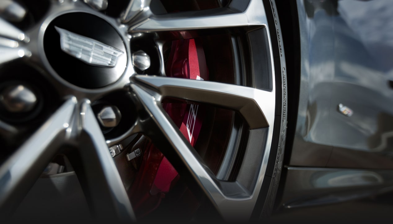 ATS-V Coupe Wheel on Brakes