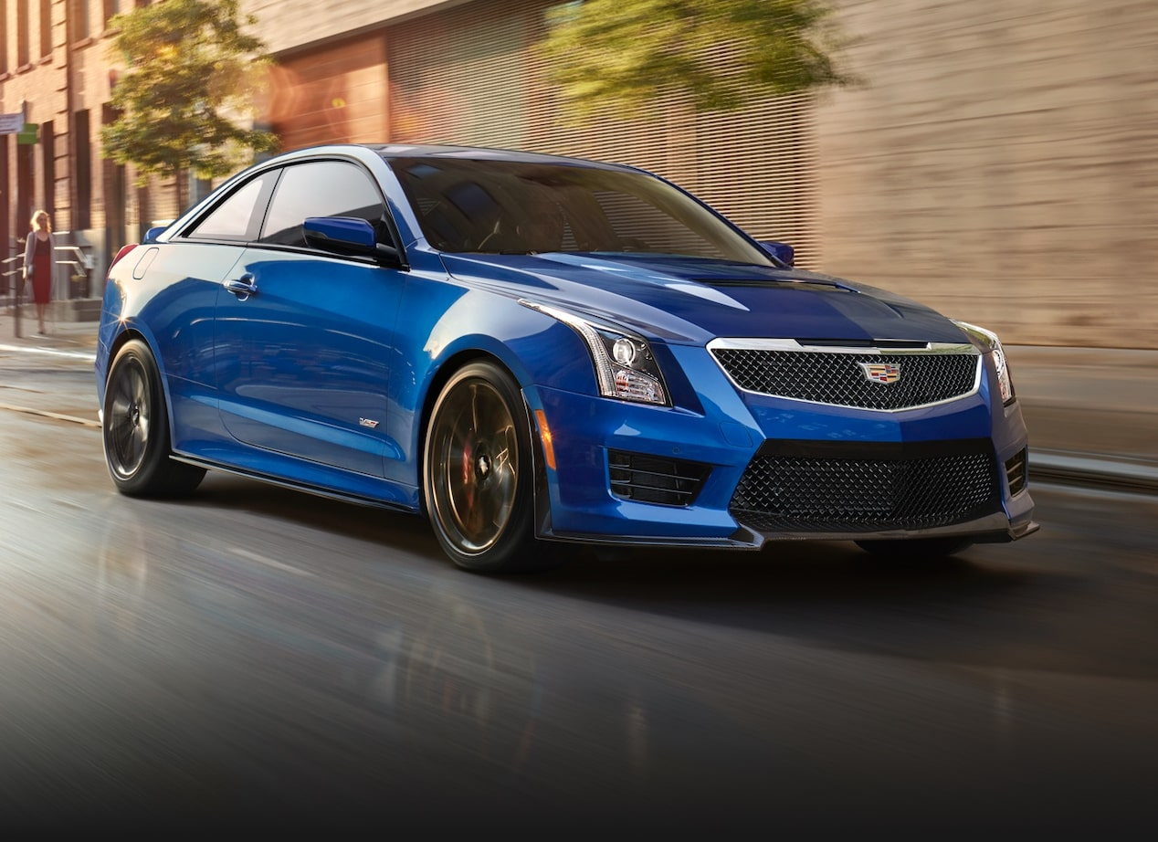 ATS-V Coupe on Track