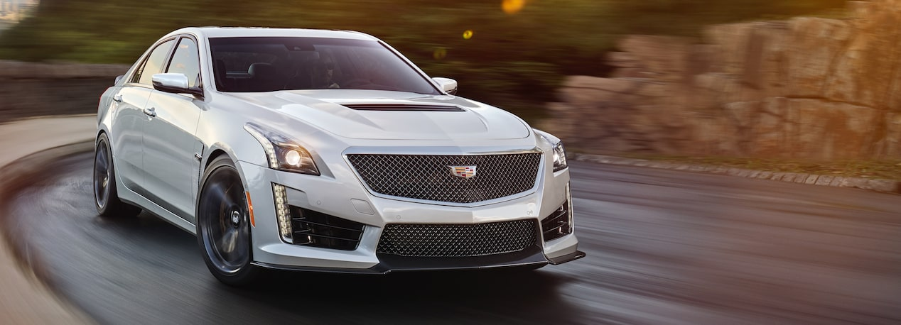 CTS-V Driving on the Road