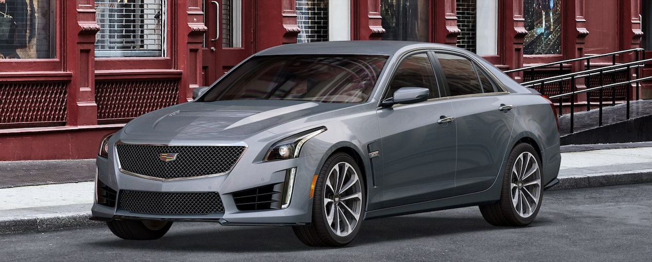 CTS-V Exterior in Satin Steel Metallic