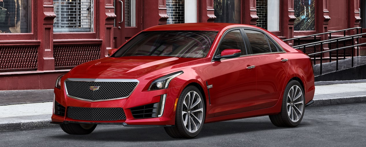 CTS-V Exterior in Velocity Red