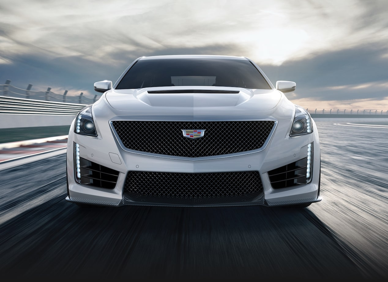Front View of CTS-V