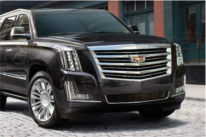 2020 Cadillac Escalade Full-Size SUV Front View: Ride Control