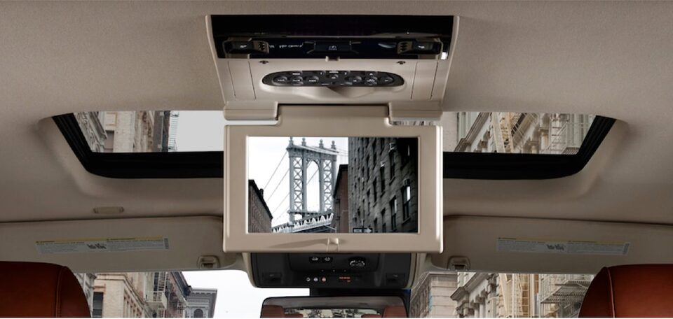 2020 Cadillac Escalade Full-Size SUV Rear Entertainment System